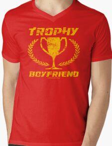 Trophy Boyfriend Mens V-Neck T-Shirt
