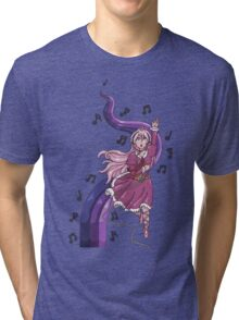 Vocaloid Anime Singer  Tri-blend T-Shirt