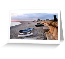 Chesil Cove Greeting Card