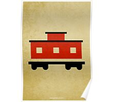 The Little Red Caboose w/o Title Poster