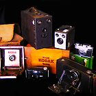 Grandpa's camera collection by Christina Brunton
