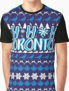 Ho Ho Ho, Toronto Graphic T-Shirt