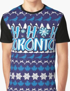 Ho Ho Ho, Toronto Graphic T-Shirt