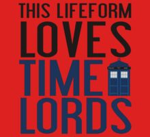 LOVES TIME LORDS One Piece - Short Sleeve