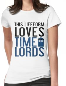 LOVES TIME LORDS Womens Fitted T-Shirt