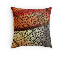 Prints in the Dust Throw Pillow