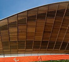 Velodrome  at the Olympic Park, Stratford by John Gaffen