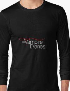 The Vampire Diaries Long Sleeve T-Shirt