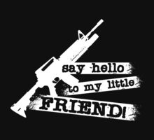 Scarface -  Say Hello to my Little Friend by metacortex