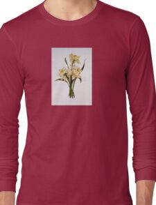 Double Narcissi In A Bouquet Long Sleeve T-Shirt