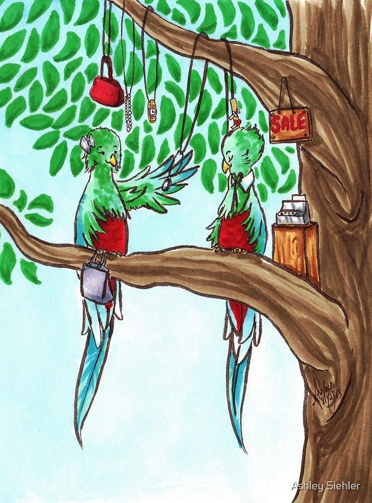 Shopping Quetzals by WeileAsh