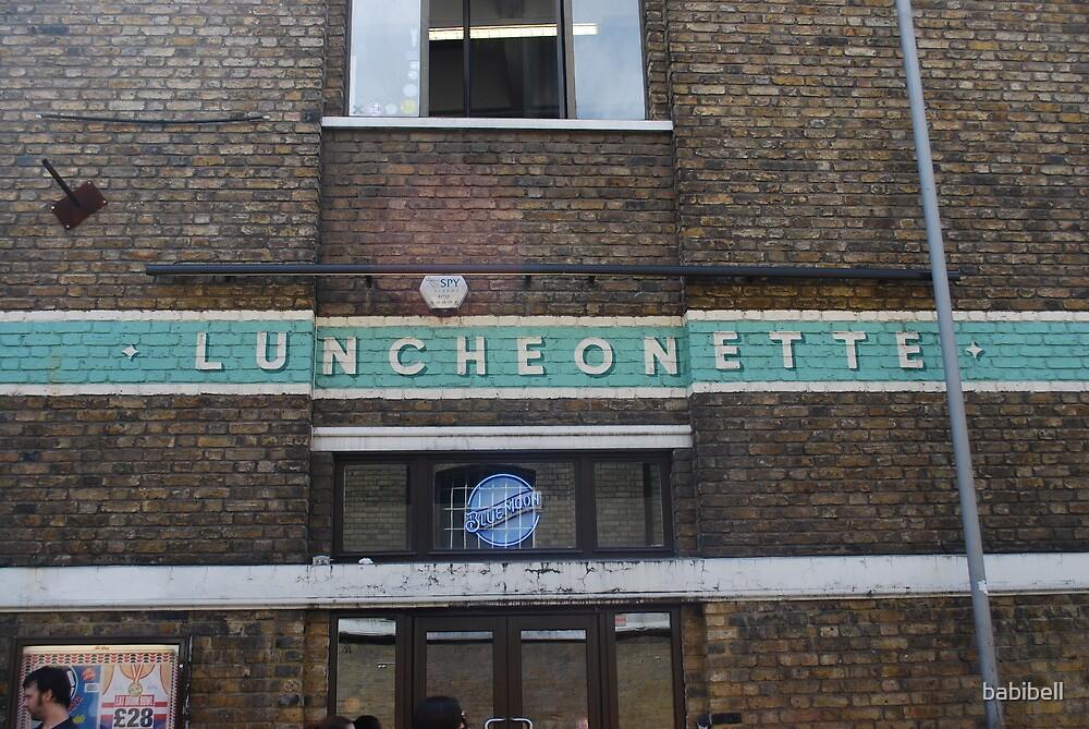 Brick Lane Luncheonette by Claire Dimond