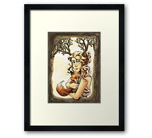 Of Late November Framed Print