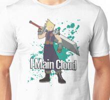 I Main Cloud - Super Smash Bros Unisex T-Shirt