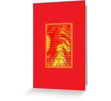 JWFrench Collection Marbled Card 32 Greeting Card