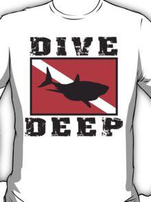 Shark SCUBA Flag T-Shirt