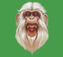 The White Angry Monkey Kids Clothes