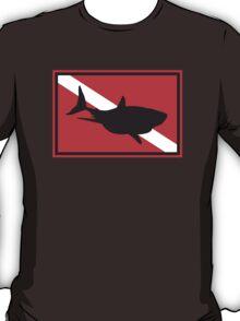 SCUBA Shark Dive Flag T-Shirt