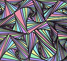 Pastel Lines by laurajean1