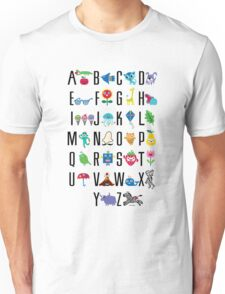 Alphabet Cute  Unisex T-Shirt