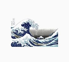 Great Wave, Hokusai 葛飾北斎の神奈川沖浪 Unisex T-Shirt