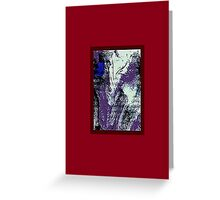 JWFrench Collection Marbled Card 47 Greeting Card