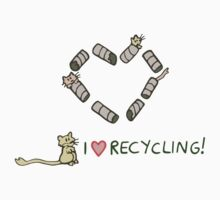 Gerbils Love Recycling Kids Tee