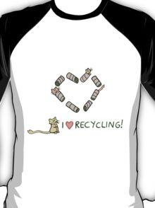 Gerbils Love Recycling T-Shirt