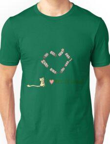 Gerbils Love Recycling Unisex T-Shirt
