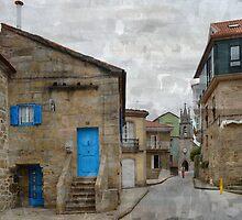 Rúas de Corcubión by rentedochan