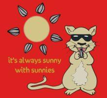 Sunny Sunnies Gerbil Kids Tee