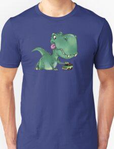Playful Rex Unisex T-Shirt