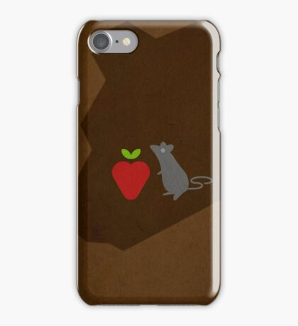 The Little Mouse, the Red Ripe Strawberry and the Big Hungry Bear w/o Title iPhone Case/Skin