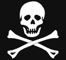 Skull And Crossbones Pirate by SportsT-Shirts