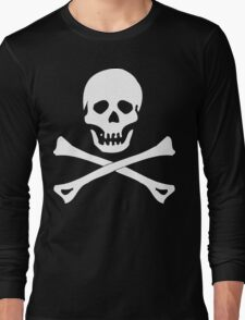 Skull And Crossbones Pirate Long Sleeve T-Shirt