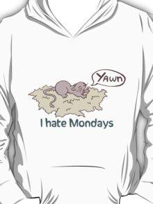 I Hate Mondays Gerbil T-Shirt