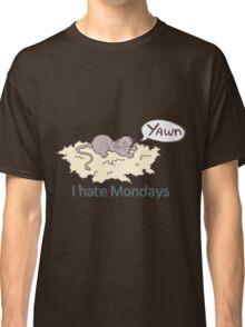 I Hate Mondays Gerbil Classic T-Shirt