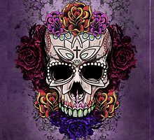 Candy Skull Design 2 by Aaron Pacey