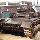 Panzer IV Medium Tank by mike  jordan.