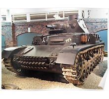 Panzer IV Medium Tank Poster
