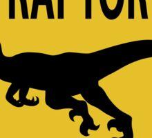Raptor Xing Sticker