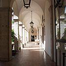Villa d'Este Arcade by Claire Elford