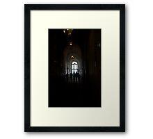 Villa d'Este Hall II Framed Print