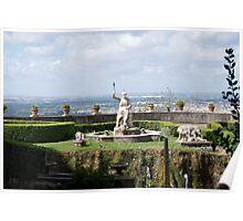 Villa d'Este Gardens Poster