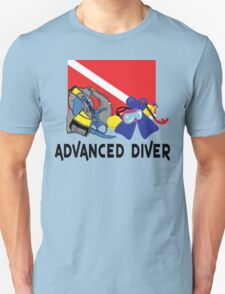 ADVANCED SCUBA DIVER Unisex T-Shirt