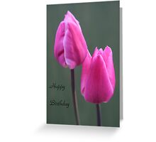 Tulip card Greeting Card