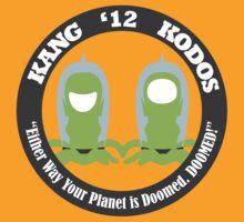 Vote Kang - Kodos '12 by fohkat