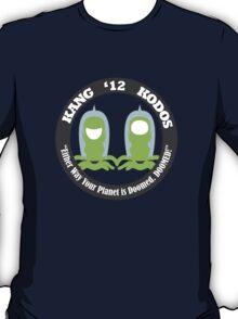 Vote Kang - Kodos '12 T-Shirt