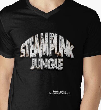Steam Punk Jungle Mens V-Neck T-Shirt