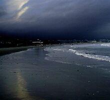 Summer lingers; tourists gone: Narragansett by Greg Owens